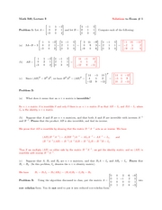 Math340Exam1Solutions