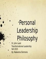 Personal Leadership Philosophy.pptx