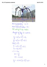 Quadratics Notes