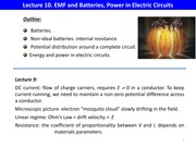 L10 EMF and Batteries