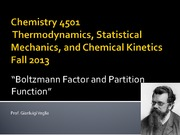 Chem3501-5501-Boltzmann Factor and Partition Function-Chp17-18_2