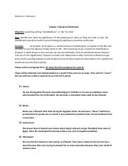 Chapter 2 Weekend Worksheet
