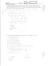 Calculus Quiz 9
