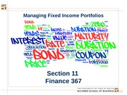Section 11.  Managing Fixed Income v2