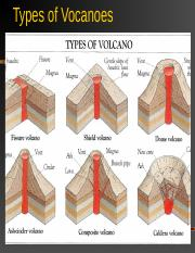 Types of volcanoes and rock cycle 2