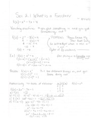2.1 What is a Function