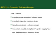 IME 320-W10 - Computer Software Design wk8