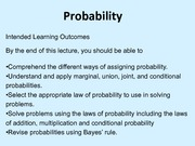 Powerpoint of Probabilty