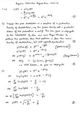 STATS 4041 : Bayesian Statistics - University of Glasgow -