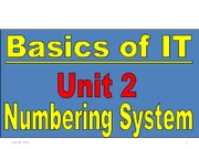 Basic of IT Unit2