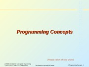 6ProgrammingConcepts