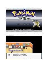 pokemon light platinum gba emulator cheats