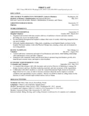 Application Requirements Breakupus Interesting Legal Resumes With Easy On  The Eye Formatting Your Education And Prepossessing  George Washington Resume