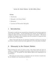 Lecture_25_Factor_Markets