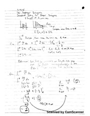 Chapter 7, Section 8 Class Notes: Improper Integrals