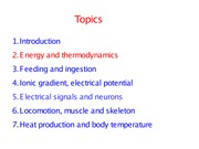 2. Energy and thermodynamics July 2014