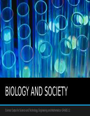 BIOLOGY AND SOCIETY.pptx