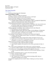 Democracy, Rights, Empire Rogers final study guide
