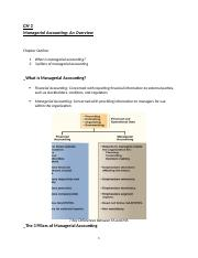 CH 1 - Managerial Accounting-An Overview.docx