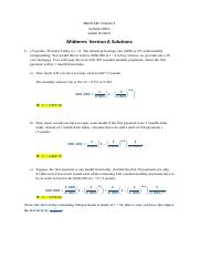 Practice Midterm 2 with Solution