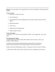 Labor Economics Notes2