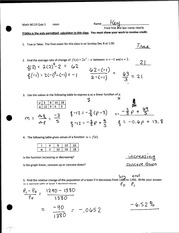 Quizzes and Solutions over Functions and Changes