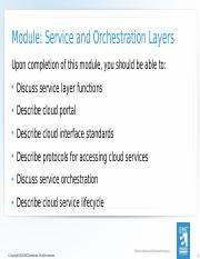 06_Module 6 Service and Orchestration Layers 84