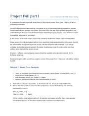 Project F4E 2016 Part I subject 1