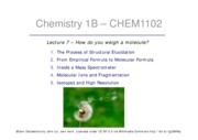 Chem1102L7_1pp Mass Spectroscopy