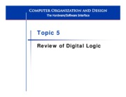 L5 Digital Logic Review