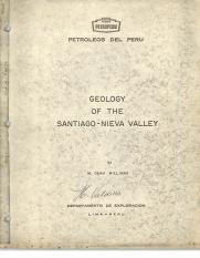 Geology of the Santiago - Nieva Valley.- M. Dean Williams.pdf