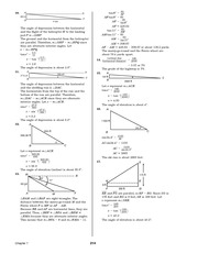 Pre-Calculus Homework Solutions 212