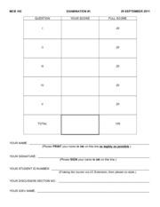 Exam _1 MCB 102 F11 copy