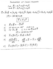 Class Notes on Torques and Angular Acceleration
