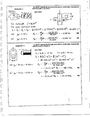290_Mechanics Homework Mechanics of Materials Solution