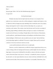 Final Paper on human connectivity (14pg)