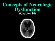 pathophysiology - Neuro 1