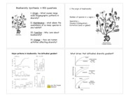 BIS2B MAY 27th , LECTURE 23-24 Biodiversity Synthesis