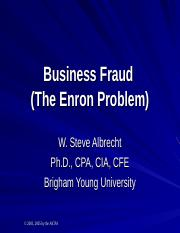 Financial Statement Fraud.Enron.AICPA.ppt