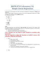 MATH 4753 Laboratory 14-with questions from book.docx