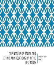 The Nature of racial and ethnic and Relationship.pptx