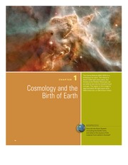 Chapter 1- Cosmology and the Birth of Earth