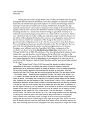 devil in the white city essay The devil in the white city: murder, magic and madness in the fair that changed america essay topics & writing assignments erik larson this set of lesson plans consists of approximately 100 pages of tests, essay questions, lessons, and other teaching materials.
