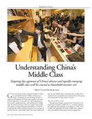 Week 2-Understanding China's Middle Class