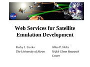 Web Services for Satellite