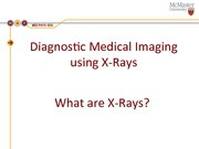 What are X-Rays Powerpoint