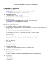 Chapter 27- outline  Germanna 2011