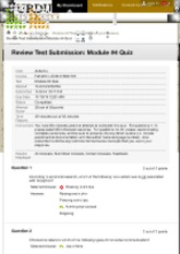 Review Test Submission: Module #4 Quiz – Fall-2014-COM-...