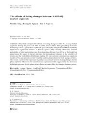 The effects of lisiting changes between NASDAQ market segments.pdf