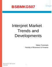 market trends assessment 1